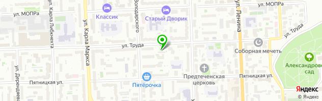Магазин автозапчастей BestAVTO — схема проезда на карте
