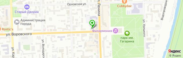 Cafe Мilk — схема проезда на карте