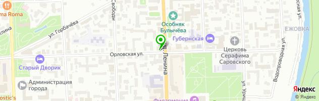 MIC — схема проезда на карте