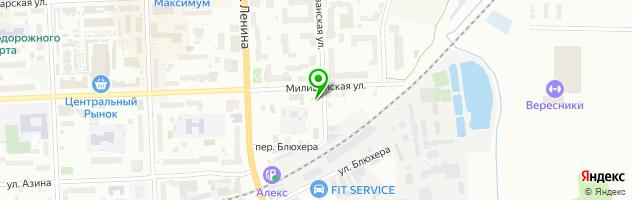 Магазин автозапчастей для корейских автомобилей — схема проезда на карте