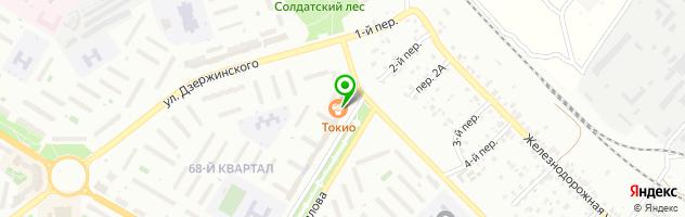 Сервисный центр Сервис Телеком — схема проезда на карте