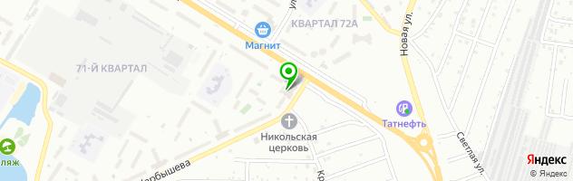 Торгово-ремонтная фирма МОНТАЖТЕХНОСЕРВИС — схема проезда на карте