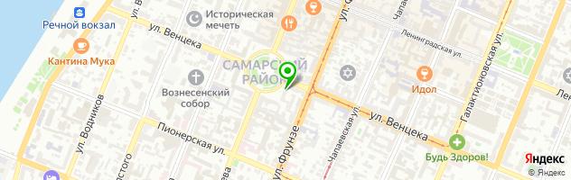 Ломбард Топаз — схема проезда на карте