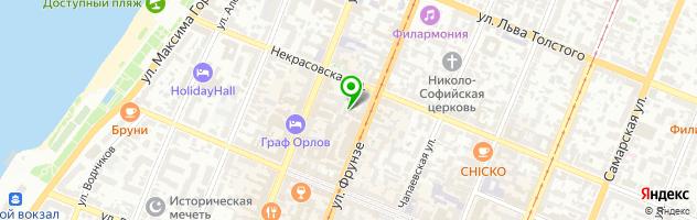 Центр эстетического воспитания детей и молодежи — схема проезда на карте