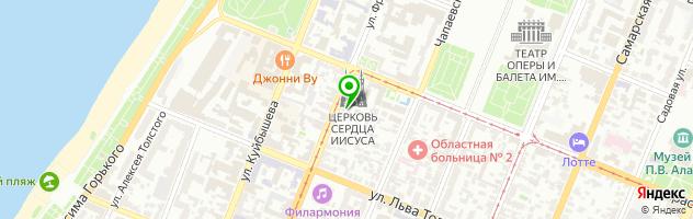 Музей-усадьба А.Н. Толстого — схема проезда на карте