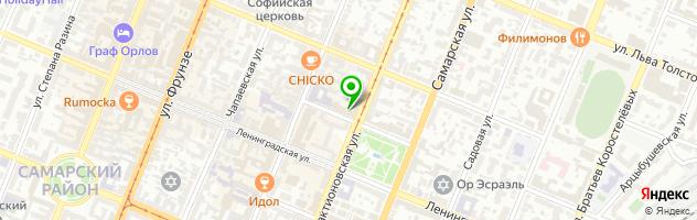 Сервисный центр Смарт Сервис — схема проезда на карте