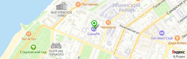 Банкетный зал Петровский — схема проезда на карте