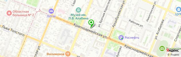 Салон-клуб Губернская оптика — схема проезда на карте