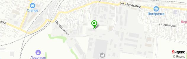 Автоцентр Uz-Daewoo — схема проезда на карте