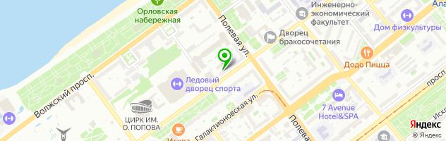 Центр косметологии и пластической хирургии — схема проезда на карте