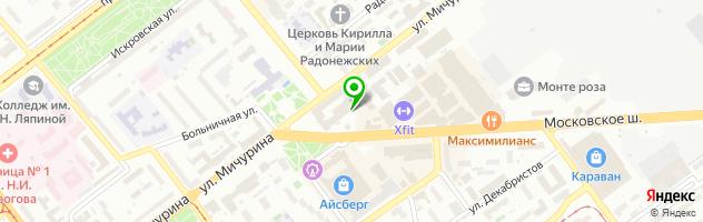 Ресторан-пивоварня Три Оленя — схема проезда на карте