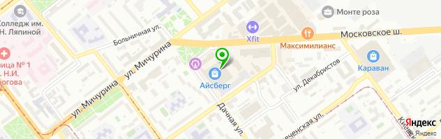 Корпорация сервисных услуг Блеск — схема проезда на карте
