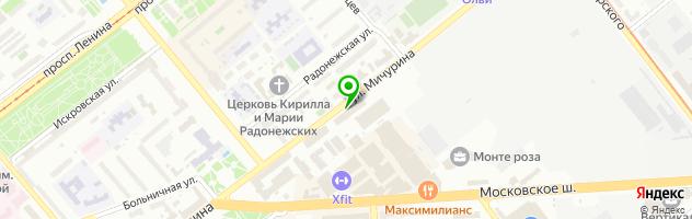Автосервис RLS — схема проезда на карте