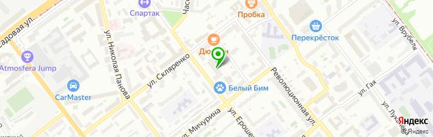 Медицинская клиника Призвание — схема проезда на карте