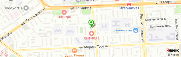 Производственно-торговая фирма Альфа-Мебель — схема проезда на карте