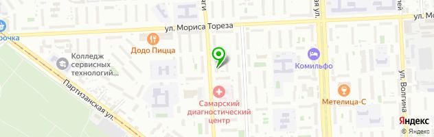 Стоматологическая клиника Аполлония — схема проезда на карте
