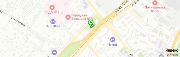 Фито-бар Твой путь — схема проезда на карте