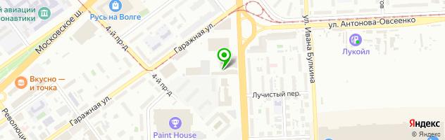 Торговая компания Автотрек — схема проезда на карте
