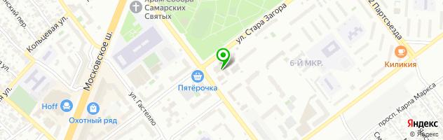 Торгово-ремонтная компания Steklorezoff — схема проезда на карте