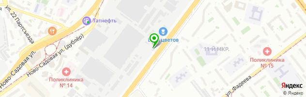 Витражная мастерская Морозова — схема проезда на карте