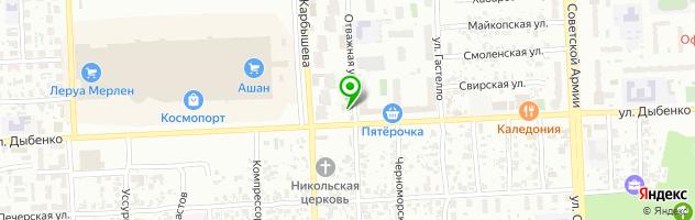Ресторан Шелк — схема проезда на карте