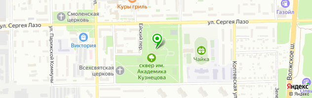 Ресторан Сказка — схема проезда на карте