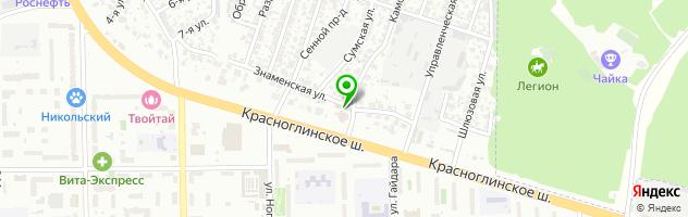 Гостиничный комплекс Ангел — схема проезда на карте