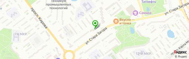 Ресторан Золотая корона — схема проезда на карте