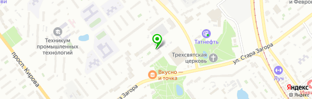 Детский сад Антошка — схема проезда на карте