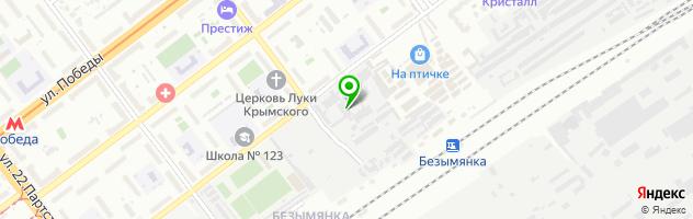 Торгово-ремонтная фирма LPG Сервис — схема проезда на карте
