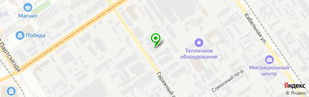 Автотехцентр МАКСАВТО — схема проезда на карте