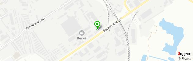 Производственная фирма Декорстекло — схема проезда на карте