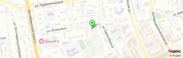 Студия пирсинга и маникюра Хвостокол — схема проезда на карте