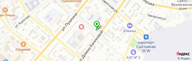 Стоматологическая клиника Интерстом — схема проезда на карте