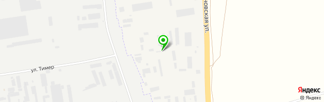 Производственная фирма — схема проезда на карте
