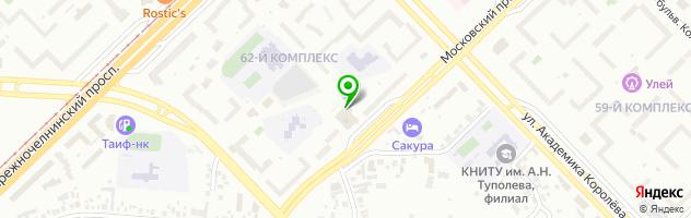 Автоцентр Фламинго — схема проезда на карте
