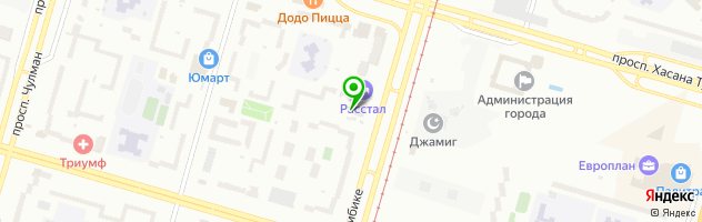 Кафе ГрильБург — схема проезда на карте