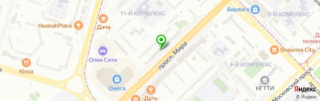 Салон красоты Cosmo — схема проезда на карте