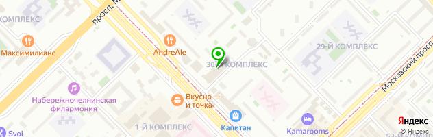 ЗОЛОТОЙ ЛАРЕЦ — схема проезда на карте