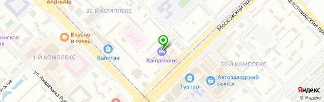 Булат Сервис — схема проезда на карте