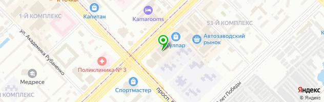 Ателье Медина — схема проезда на карте