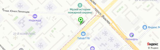 Стоматологическая клиника Альфар — схема проезда на карте