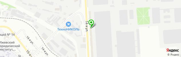 Сервисный центр Электросила — схема проезда на карте