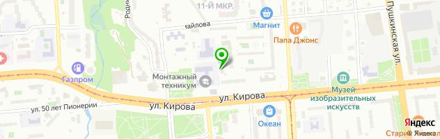 Автотехцентр Автосервис ЭРА — схема проезда на карте