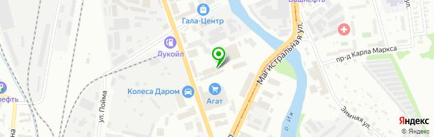 Автотехцентр Дизель-мотор-комплект — схема проезда на карте