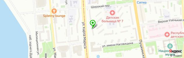 Автотехцентр РеноМаркет — схема проезда на карте
