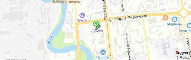 АВТОСИТИ- Студия автозвука — схема проезда на карте