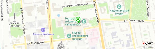 Ресторан By Park Inn — схема проезда на карте