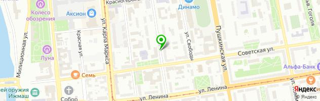 ИП Смирнова Наталья Александровна — схема проезда на карте