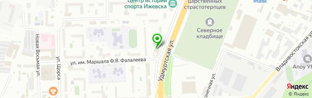 Ресторан Райский сад — схема проезда на карте